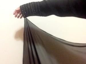 My old superhero abaya