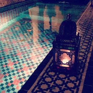 A riad pool