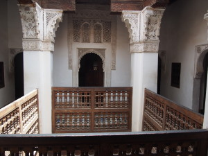 Inside the Medersa
