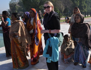 India. Trying to fit in...